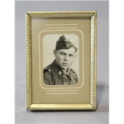 WWII Nazi SS Soldier Picture
