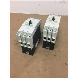 (2) Siemens 3RV1742-5ED10 Circuit Breaker