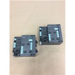 (2) Siemens 141-1BF11-0XB0 ET 200X Simatic S7 Module