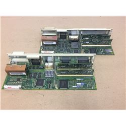 (2) Siemens 1P 6SN1118-0DG21-0AA1 w/ 1P 6SN1118 0DJ23-0AA0 SIMODRIVE CONTROL UNITS
