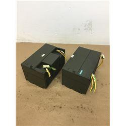 (2) Siemens 1P 6EP1 334-1SH01 Power Supplies