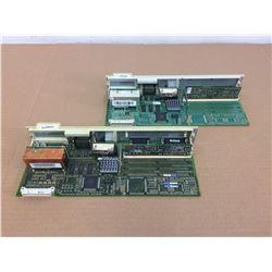 (2) Siemens 1P 6SN1118-0DG21-0AA1 Simodrive Control Units