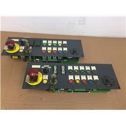 (2) SIEMENS 6FC5203-0AD10-AA0 CONTROL PANEL
