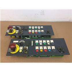 (2) SIEMENS 6FC5203-0AD10-0AA0 CONTROL PANEL
