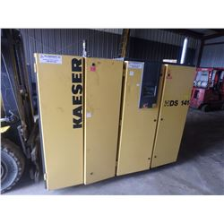 100 HP Kaeser Rotary Screw Air Compressor