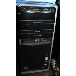 HP DESKTOP COMPUTER, WINDOWS 7, COMES W/ MONITOR