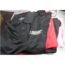 GROUP OF 8 NEW SNAP FITNESS T-SHIRTS