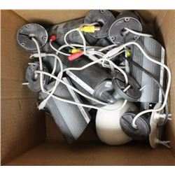 BOX OF SECURITY CAMERAS