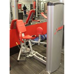 CYBEX HIP ABDUCTION/ADDUCTION MACHINE, 145LBS