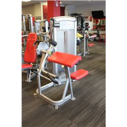 (MILLWOODS) CYBEX ARM CURL MACHINE W/ 150LBS