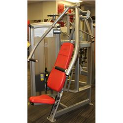 (MILLWOODS) CYBEX CHEST PRESS MACHINE W/230LBS