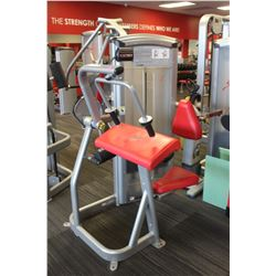 (MILLWOODS) CYBEX ARM EXTENSION MACHINE W/150LBS