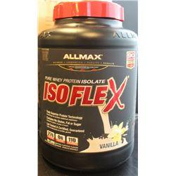 ALLMAX ISOFLEX PURE WHEY PROTEIN, 5LBS VANILLA