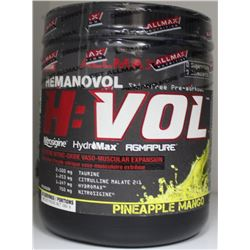 H:VOL STIM FREE PRE-WORKOUT, PINEAPPLE MANGO