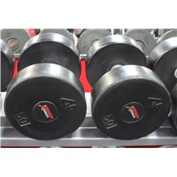 PAIR OF 50LB DUMBELLS