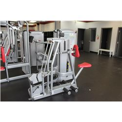 CYBEX ROW MACHINE WITH 230LBS INTERNAL WEIGHT