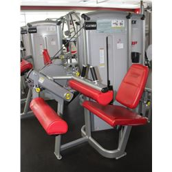 CYBEX SEATED LEG CURL MACHINE WITH 230LBS INTERNAL