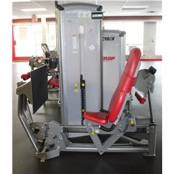 CYBEX LEG PRESS MACHINE WITH 390LBS INTERNAL WEIGH