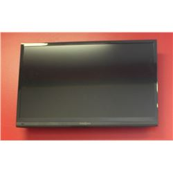 INSIGNIA 28 INCH FLAT SCREEN TV WITH WALL MOUNT