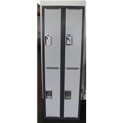 BANK OF 4 LOCKERS, 24 X 72 X 18