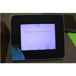 IPAD, GB UNKNOWN, COMES IN HARDSHELL STAND