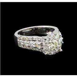 14KT White Gold 2.65 ctw Diamond Ring