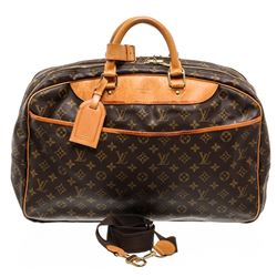 Louis Vuitton Monogram Canvas Leather Alize 24 Heures Lugagge