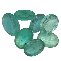 4.57 ctw Oval Mixed Emerald Parcel