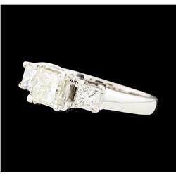 1.36 ctw Diamond Ring - 14KT White Gold