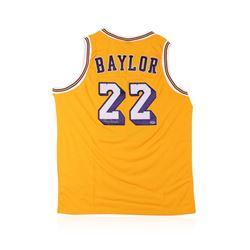 PSA Certified Elgin Baylor Autographed Basketball Jersey