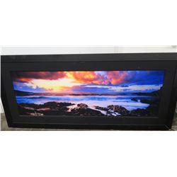 """'Genesis' by Peter Lik, Ltd Ed. (728 of 950), 2 Meters, 95"""" x 43"""" Framed, (Damaged Frame)"""