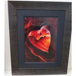 "'Desire' by Peter Lik - Ltd Ed. (53 of 950), COA, 1 Meter, 34"" x 42.5"" Framed"