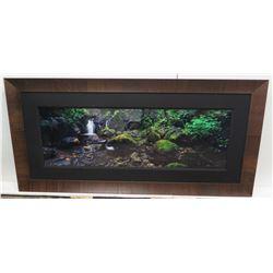 """Hideaway by Peter Lik, Ltd Ed. (44 of 950), 1 Meter, 76"""" x 37"""" Framed"""