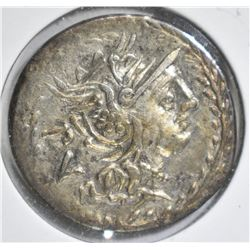 101 BC SILVER DENARIUS ROMAN REPUBLIC