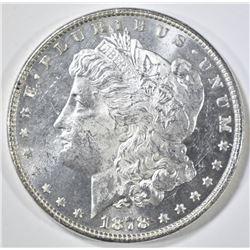 1878 7TF REV OF 78  MORGAN DOLLAR  GEM BU PL