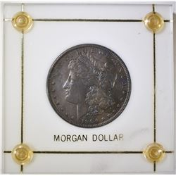 1904 MORGAN DOLLAR BU IN DISPLAY HOLDER