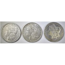 MORGAN DOLLAR LOT::