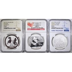 FOREIGN SILVER COIN LOT: