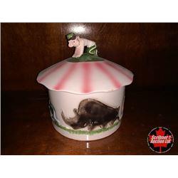 Trinket Box - Circus Monkey, Rhino etc