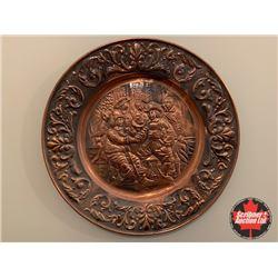 Coppercraft Wall Décor Plate