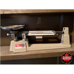 "Counter Top Scale ""Triple Beam Balance"" Signed by Mary Borgstrom!"