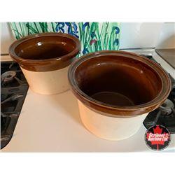 Crock Pot Inserts (2)