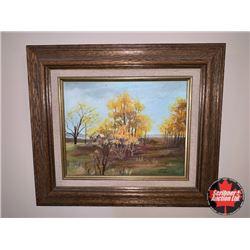 Framed Art - Fall Trees : Artist - Marilyn Donaldson