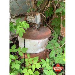 Rustic Wringer Washing Machine