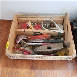 Tray Lot: Vintage Tools etc
