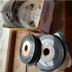 Box Lot: 45's & Movie Reels