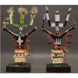 APACHE INDIAN GAN DANCERS DOLLS