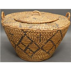 KLICKITAT INDIAN BASKET