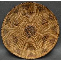 PIMA INDIAN BASKETRY TRAY