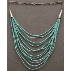 SAN DOMINGO INDIAN TURQUOISE NECKLACE